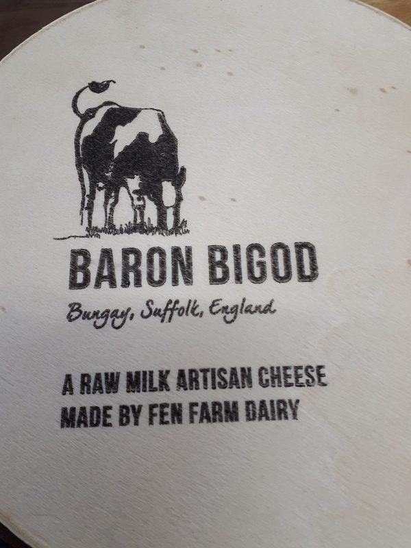 Baron bigod cheese