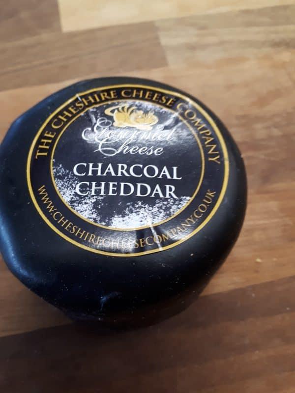 charcoal cheddar