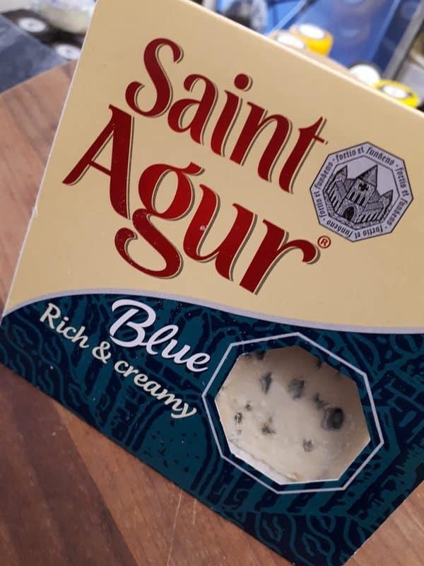 Saint Agur blue cheese