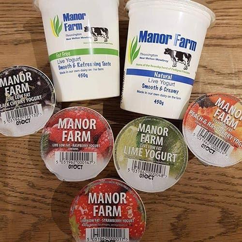 Manor Farm Yoghurts