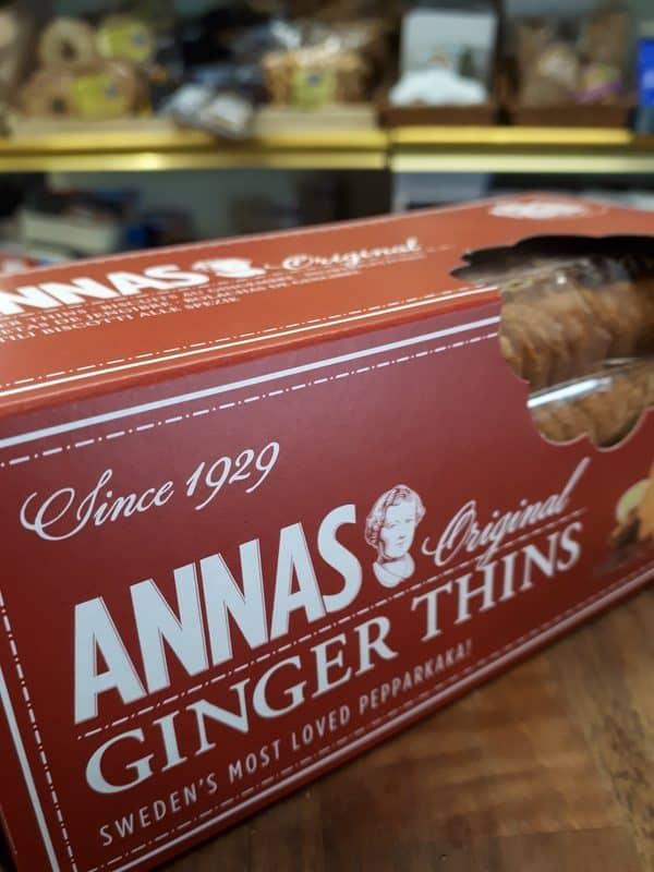 ginger thins
