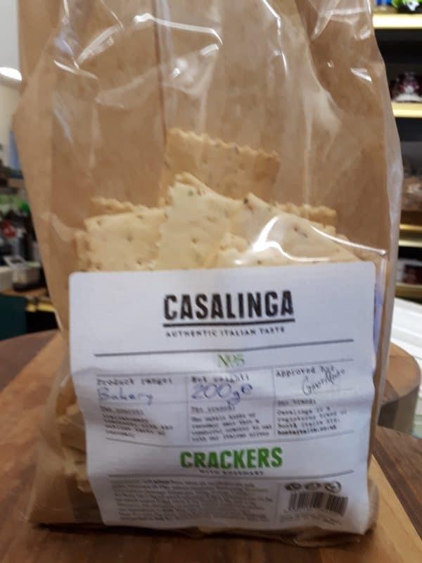 casalinga cheese crackers