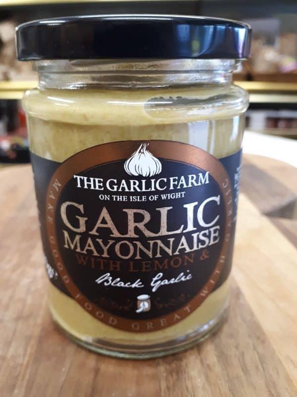 black garlic mayonnaise